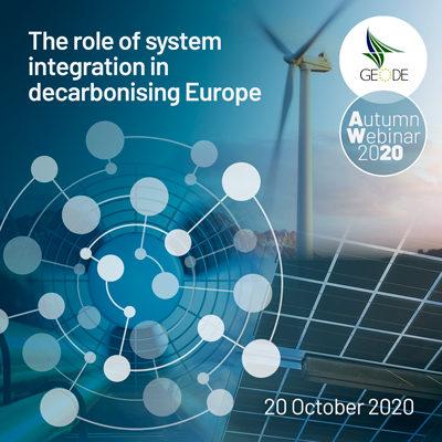 GEODE Autumn Seminar 2020